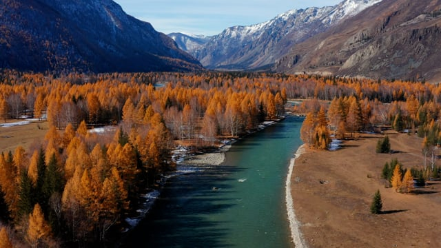Beautiful Siberia from the Bird's Eye View - Short Preview Video
