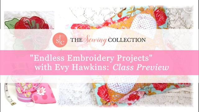 Endless Embroidery Class Preview