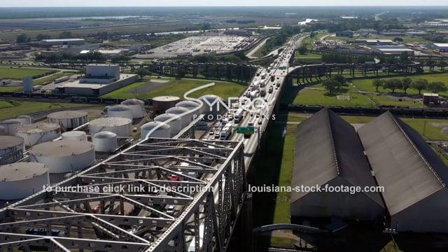 2990 Epic traffic jam Baton Rouge traffic congestion on interstate 10