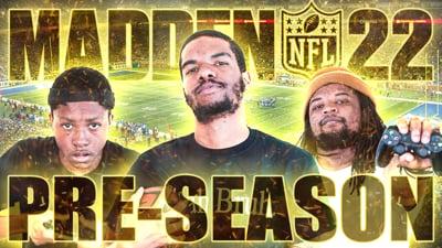 The Madden 22 Beef Draft Pre-Season Stream!