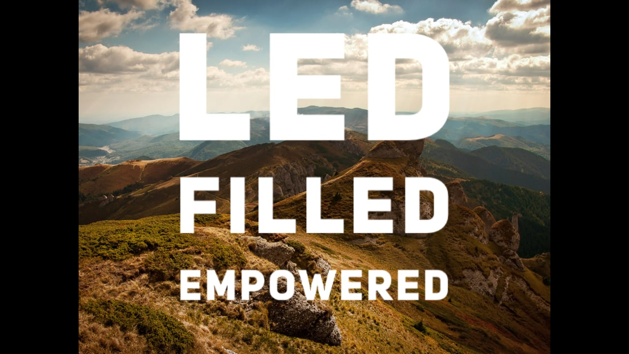 Are You Led, Filled, and Empowered?