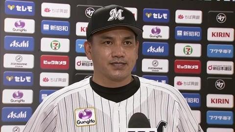 9/10 マリーンズ・井口監督 試合後インタビュー