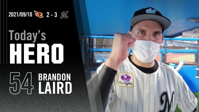 今日のヒーロー|レアード選手「優勝した自分たちの姿を見せたい」
