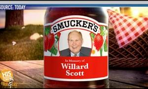 Willard Scott will be remembered!