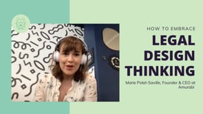 Legal Design with Marie Potel-Saville