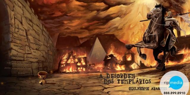 Guilherme Arantes - A Desordem dos Templários - Album Release - Handrawn Animation (30-seconds)