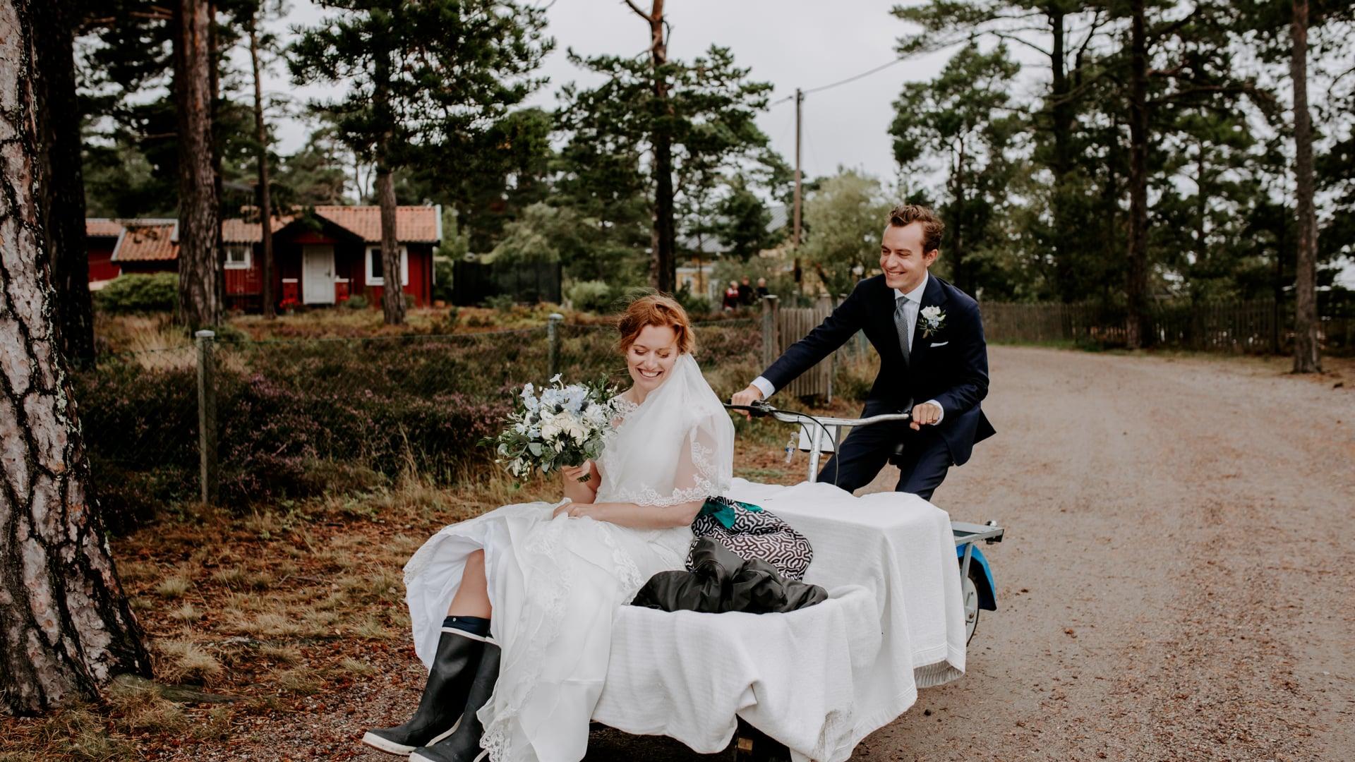 SKÄRGÅRDSBRÖLLOP PÅ SANDHAMN   ASTILBE WEDDINGS