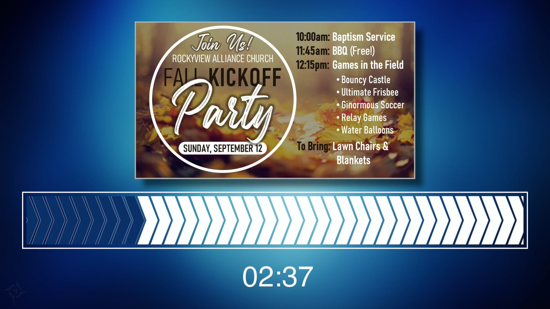 Fall Kickoff Party - Dance Music