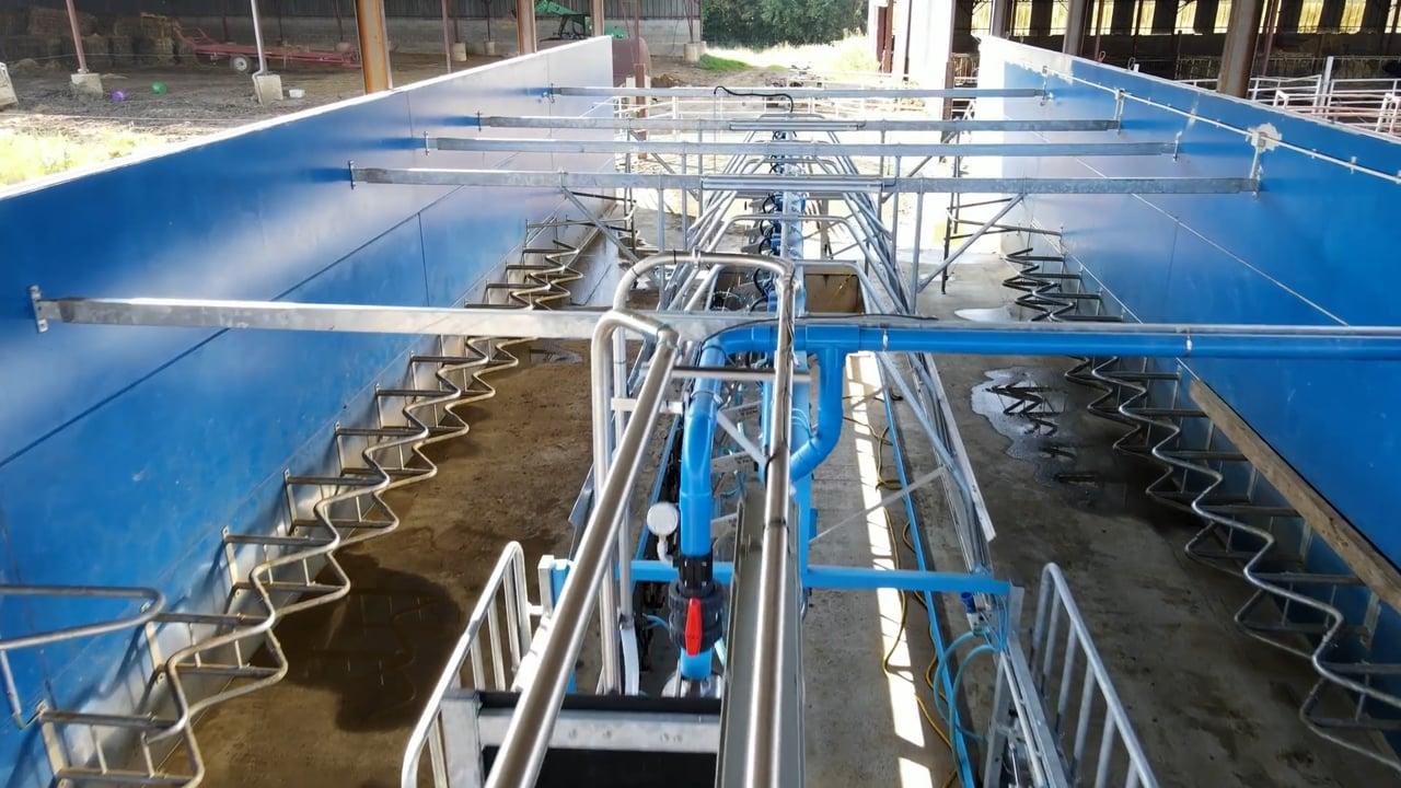Fullwood Packo- Une salle de traite 2 x 12 « Swing over » pour débuter le lait à moindre coût