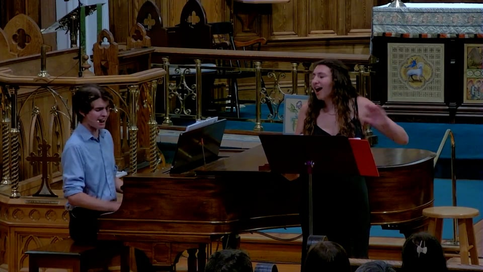 Saint John's Episcopal Church presents New and Old Musical Theater with Ruth Weaver and Sam Tucker-Smith