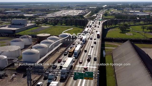 3000 5 o' clock traffic jam congestion Baton Rouge Louisiana