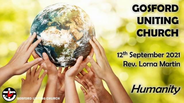 12th September 2021 - Rev. Lorna Martin