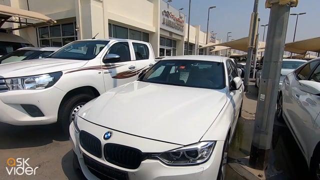 BMW 330e - WHITE - 2018