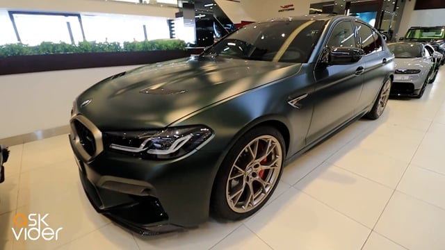 NEW! BMW M5 CS - MATTE GR...