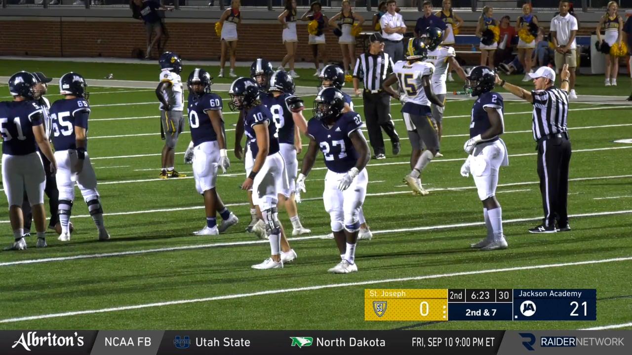Varsity Football vs St Joseph (Madison) - 09-10-21