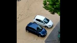 Alluvione a Soverato, gravi allagamenti in città