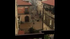 Devastante alluvione a Soverato, la località è sott'acqua