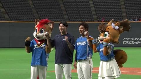 ファイターズ・立野投手・今川選手ヒーローインタビュー 9/12 F-H