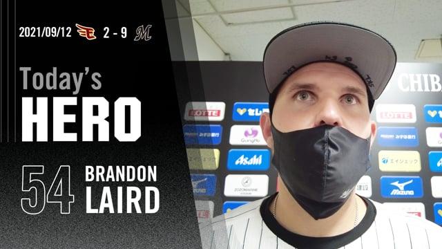 今日のヒーロー|レアード選手「重要なカードで自分の打撃ができてよかった」
