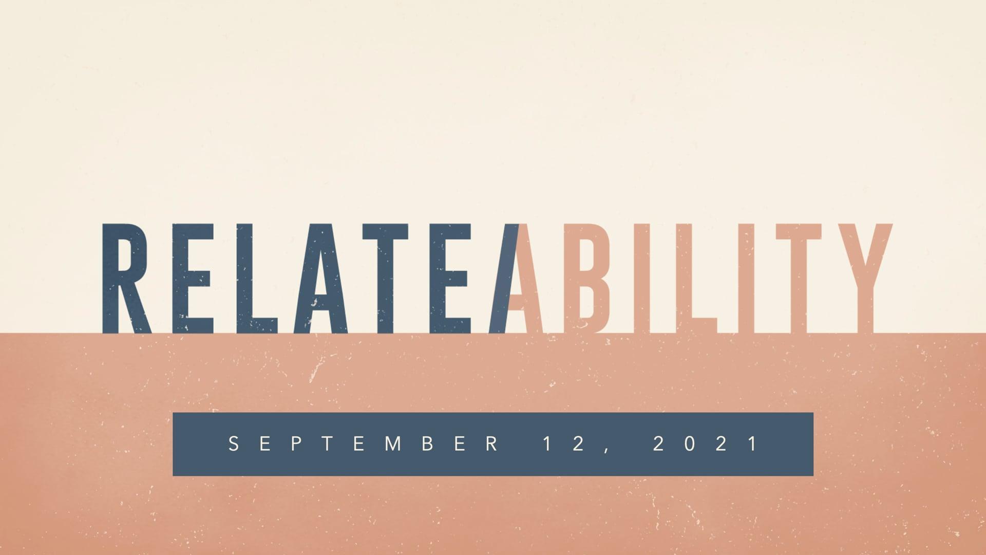RelateAbility - Jesus