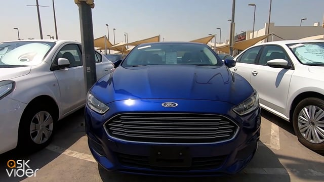 FORD FUSION - BLUE - 2016
