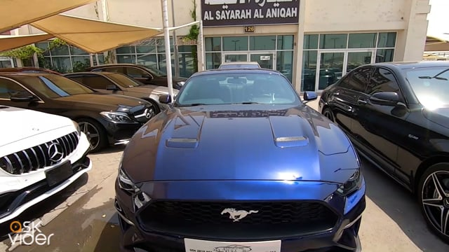 FORD MUSTANG - BLUE - 202...