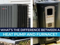 What's the difference between a heat pump and furnace?
