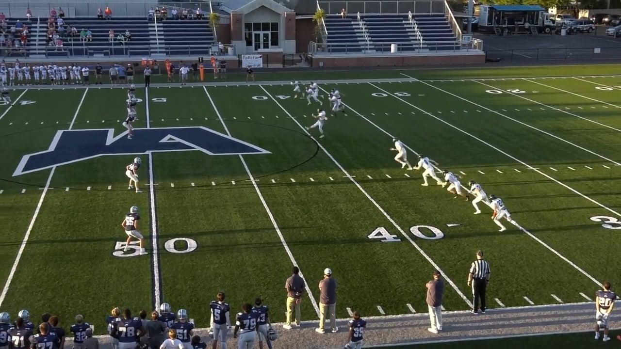 JV Football vs Leake - 09-09-21