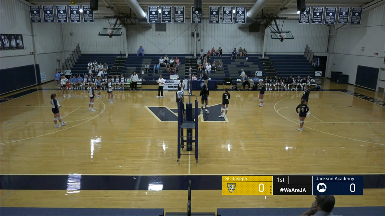 Middle School A Team Volleyball vs St. Joseph - 09-07-21