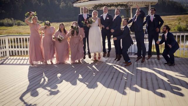 Katharine + Kevin Wedding Highlights - Deer Creek Ranch, Bailey  CO_090321