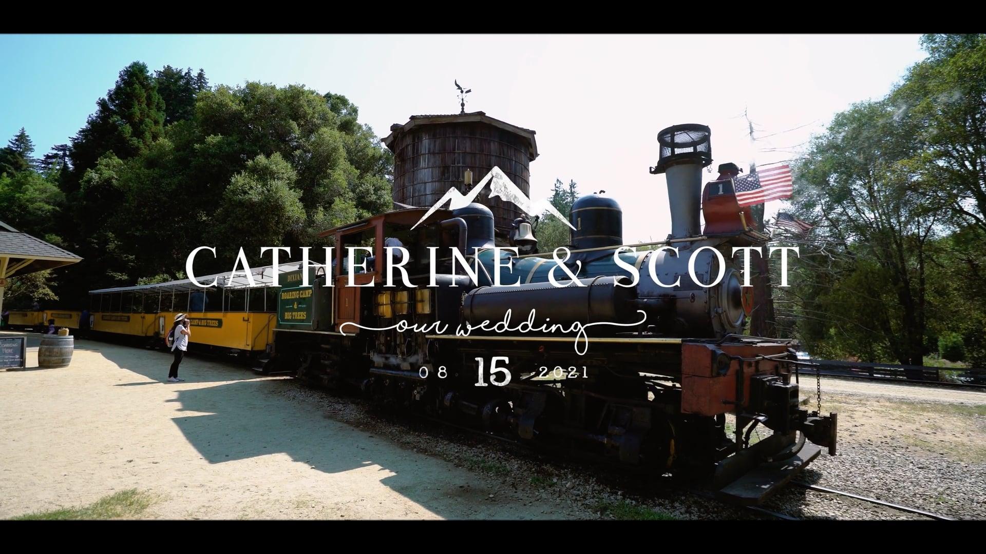 Roaring Camp Train Wedding - Felton, CA   Cinematic Highlight Reel