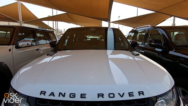RANGE ROVER SPORT - WHITE...