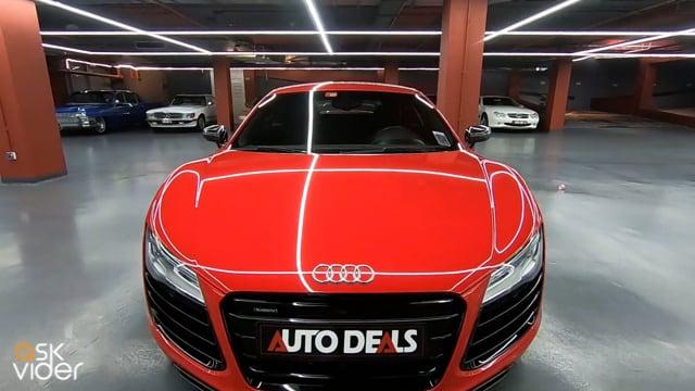 AUDI R8 QUATTRO - RED - 2...