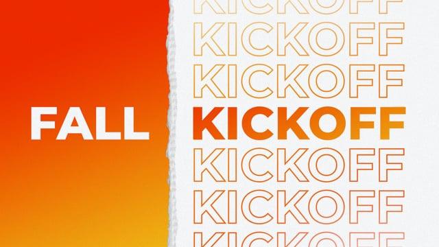 Fall Kickoff 10:30am - September 12, 2021