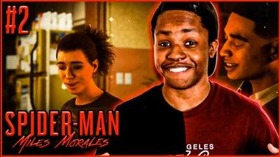 We Got A GIRLFRIEND! Trent's Spider-Man Miles Morales: Walkthrough Ep. 2