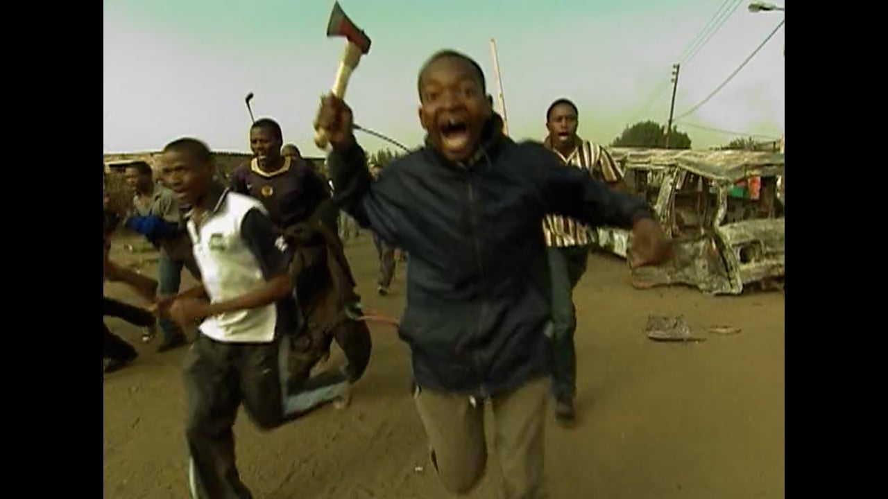 A Wave of Xenophobic Attacks Sweeps across South Africa - 2008