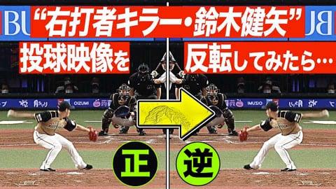 ファイターズ・鈴木健矢『右打者キラーの投球を【反転】』してみたら…