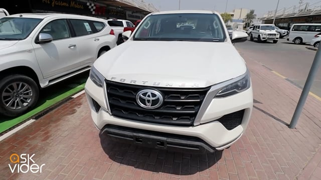 NEW! TOYOTA FORTUNER SRS - WHITE - 2021 *ASK FOR PRICE