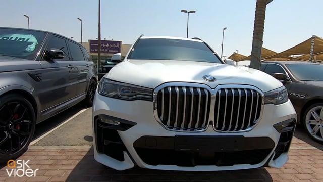BMW X7 501 - WHITE - 2019