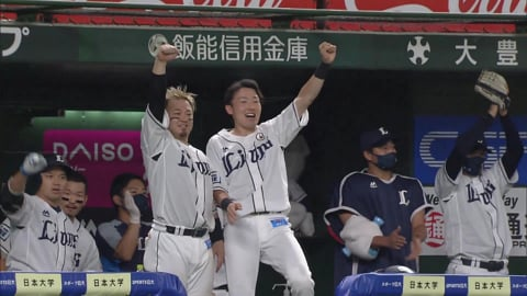 【8回裏】ライオンズ・栗山 同点タイムリーヒットを放つ!! 2021/9/15 L-F