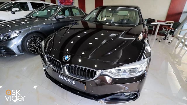 NEW! BMW 420i - BROWN - 2...