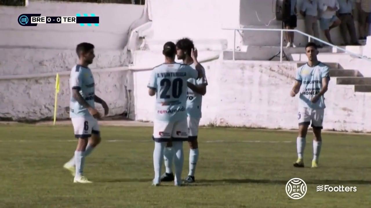 (RESUMEN y GOLES) CD Brea 1-1 Terrassa FC / J 2 / 2ª RFEF - Grupo 3 / Fuente Facebook CD Brea