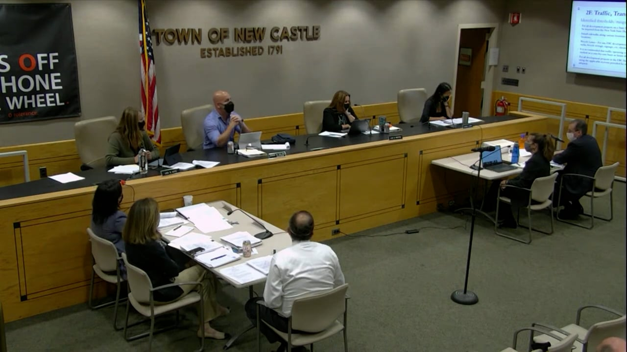 Town Board of New Castle Work Session & Meeting 9/14/21