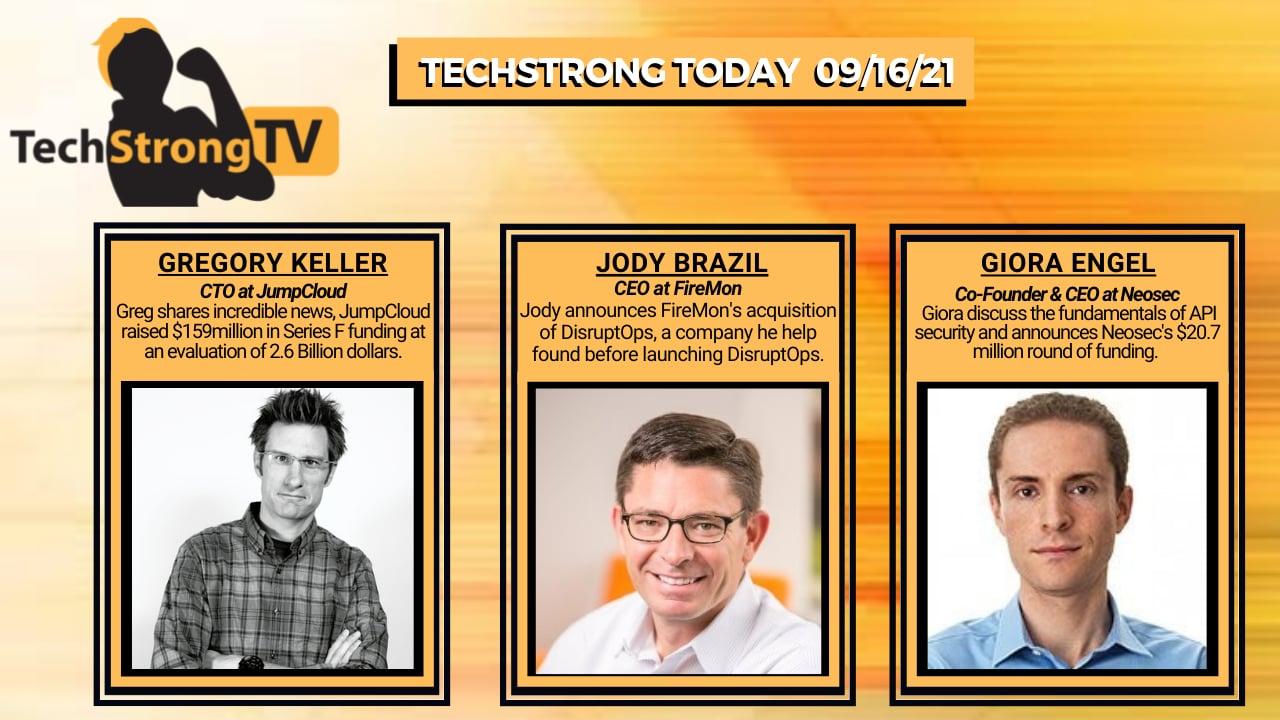 TechStrong TV – September 16, 2021