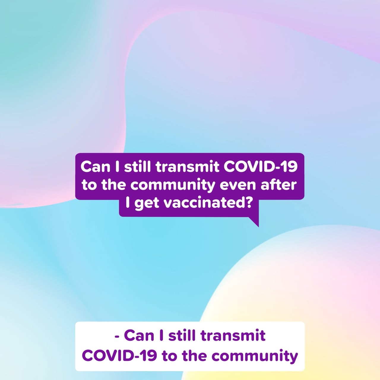 You've got questions with Dr Karl - Can I still transmit COVID-19 to the community after I get vaccinated?