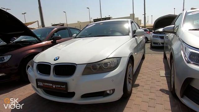 BMW 316i - WHITE - 2012