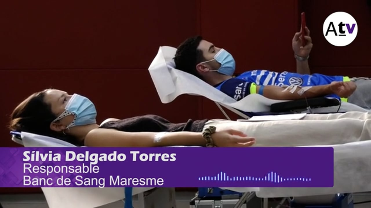 Gairebé un centenar de donacions en la darrera jornada de donació de sang