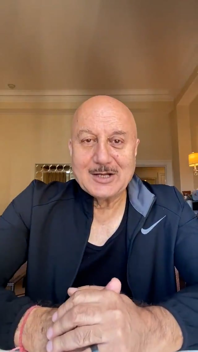 The day Las Vegas declared 10th September as Anupam kher day. Let's have a look at this proud Kuch bhi ho sakta hai moment in the life of Anupam kher.