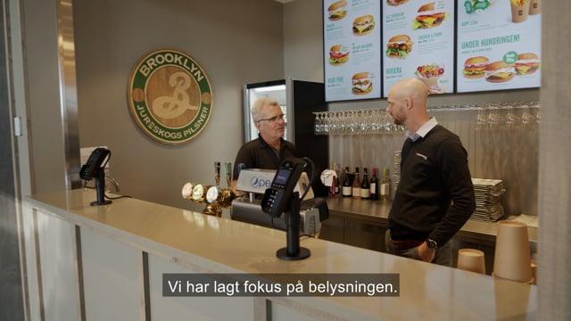 Volt 10 -21 Belysning från Elektroskandia till Jureskogs i Kalmar
