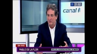 Entrevista a Pablo de la Flor en Canal N